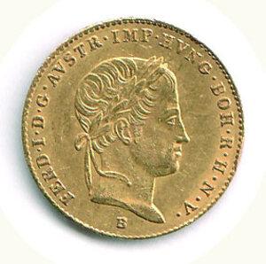 obverse: AUSTRIA - Ferdinando I (1835-1848) - Ducato 1844 - Zecca A.
