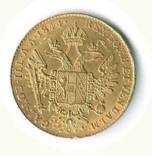 reverse: AUSTRIA - Ferdinando I (1835-1848) - Ducato 1844 - Zecca A.