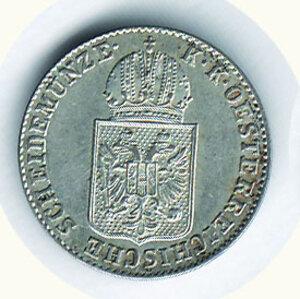 obverse: AUSTRIA - Ferdinando I - 6 Kreuzer 1848 - Zecca C