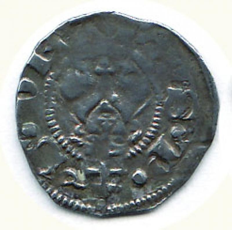 obverse: BOLOGNA - Gregorio XI  (1370-1378) - Bolognino romano