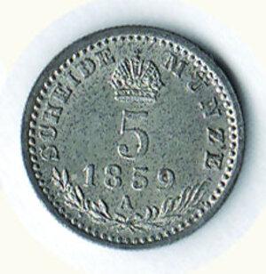 reverse: AUSTRIA - Francesco Giuseppe - 5 Kreuzer 1859.