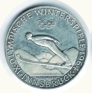 obverse: AUSTRIA - 50 Scellini 1964 - Olimpiade Innsbruck.