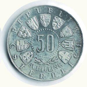 reverse: AUSTRIA - 50 Scellini 1964 - Olimpiade Innsbruck.