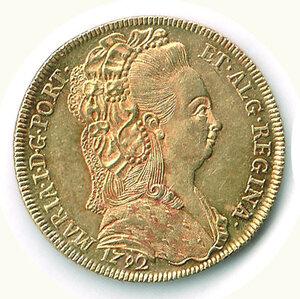 obverse: BRASILE - Maria (1786-1816) - 6.400 Reis 1792