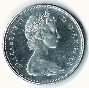 obverse: CANADA - Dollaro 1967 - Centenario Confederazione.