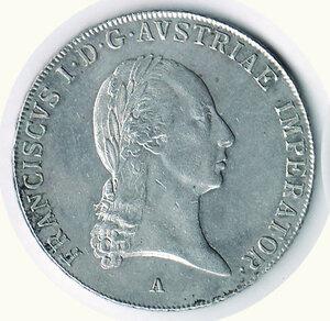 obverse: AUSTRIA Francesco I - Tallero 1819