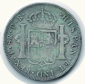 reverse: BOLIVIA Carlo IV (1788-1808) - 8 Reales 1794