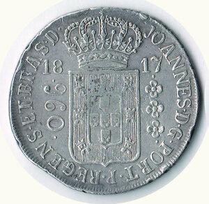 obverse: BRASILE Joao VI - 960 Reis 1817