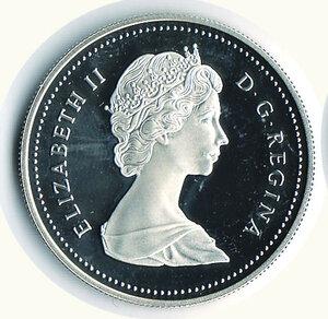 obverse: CANADA - Dollaro 1987 - 400° Stretto di Davis.