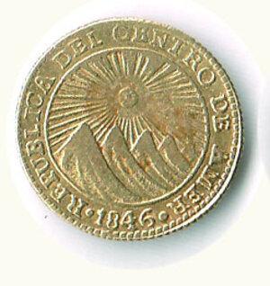 obverse: COSTA RICA - 1 Scudo 1846.