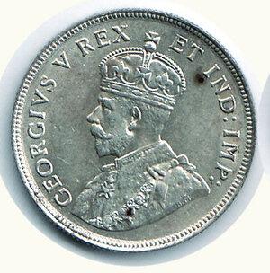 obverse: EAST AFRICA - Colonie inglesi - Giorgio V - 1 Scellino 1924.