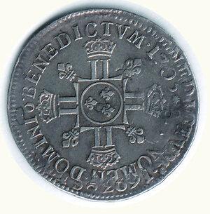 reverse: FRANCIA - Luigi XIV - ½ Scudo riformato 1705