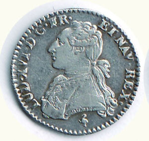 obverse: FRANCIA - Luigi XVI  - 1/10 di ECU 1780.