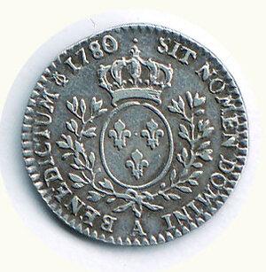 reverse: FRANCIA - Luigi XVI  - 1/10 di ECU 1780.