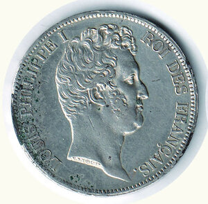 obverse: FRANCIA - Luigi Filippo - 5 Fr. 1831 - Zecca di Lille.