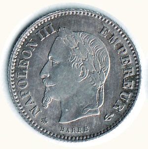 obverse: FRANCIA - Napoleone III - 20 Cent.