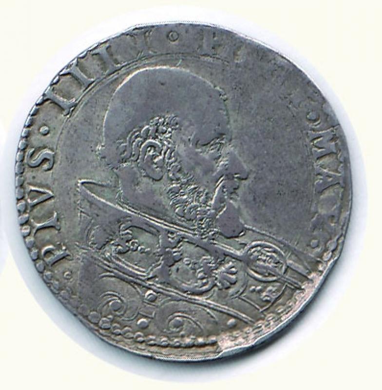 reverse: BOLOGNA - Pio IV (1559-1565) - Bianco