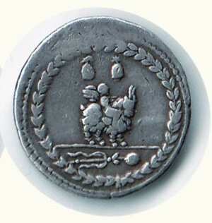 reverse: ROMA Repubblica - Fonteia - Denario