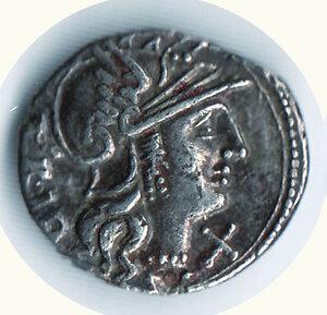 obverse: LUCRETIUS TRIO - Denario 136 a.C.