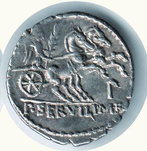 reverse: SERVILIUS M.F. RULLUS - Denario.