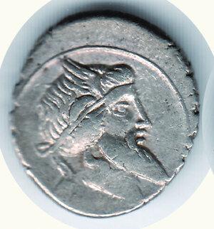 obverse: TITIA - Quintus Titius 90 a.C. - Denario.