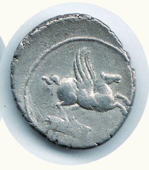 reverse: TITIA - Quintus Titius 90 a.C. - Denario.