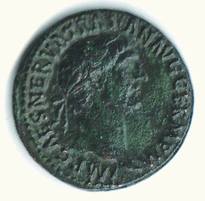 obverse: ROMA - Traiano - Asse
