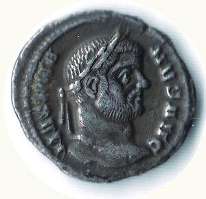 obverse: MASSIMIANO (primo regno 285-305) - Argenteo;