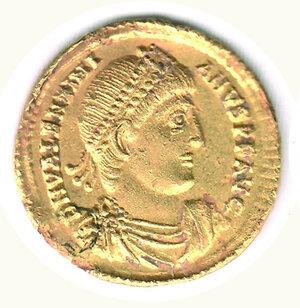 obverse: VALENTINIANO I (364-375 ) - Solido Nicomedia;