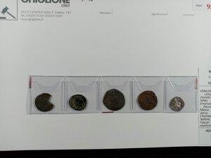 obverse: VENEZIA-SAVOIA - Lotto di 15 monete