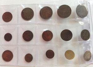 obverse: VITTORIO EMANUELE II Lotto di 26 monete