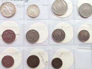 obverse: VITTORIO EMANUELE III - occupazione di Albania Lotto di 11 monete