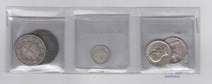 obverse: REGNO D ITALIA - Lotto di 5 monete