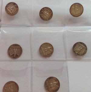 obverse: VITTORIO EMANUELE III - 5 Lire lotto di 8 pezzi