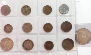 obverse: REGNO D ITALIA - VATICANO - Lotto di 12 monete ed una medaglia