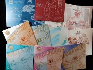 reverse: REPUBBLICA ITALIANA - Lotto di 24 serie annuali