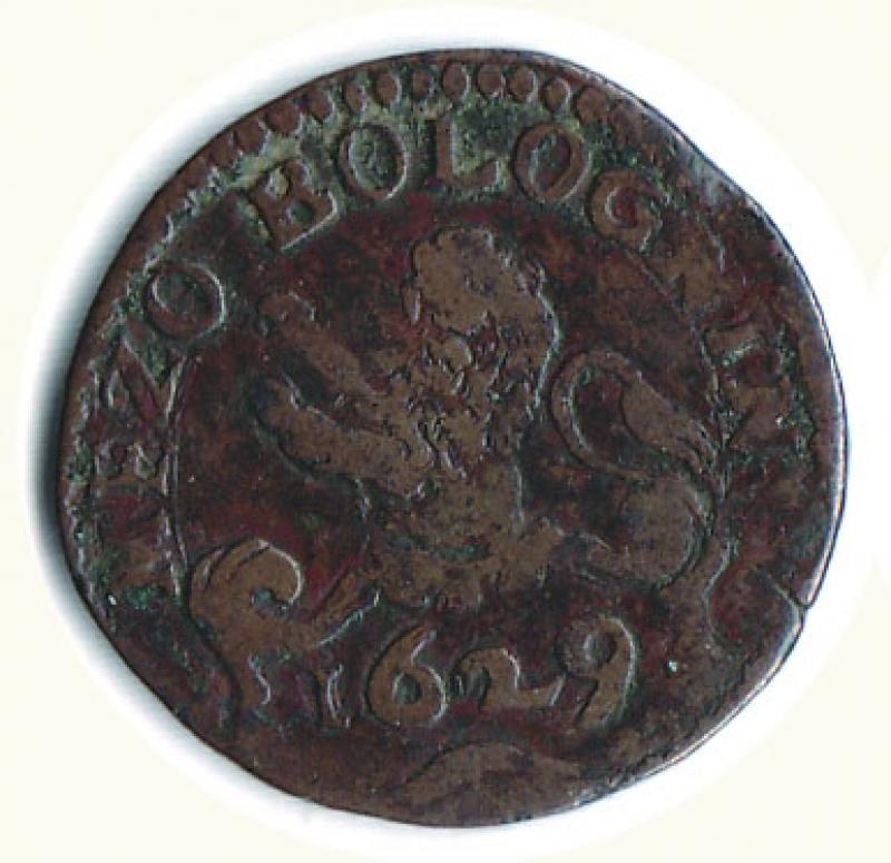 obverse: BOLOGNA - Urbano VIII (1623-1644) - Mezzo Bolognino 1629