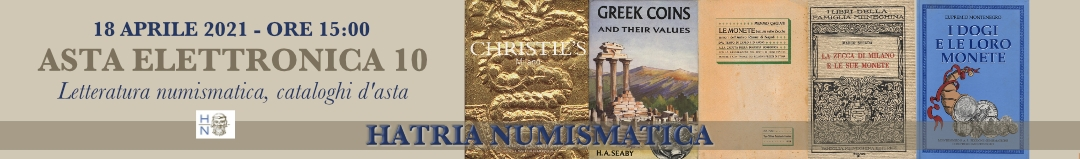 Banner Hatria Numismatica Asta 10