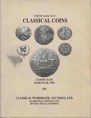 obverse: CLASSICAL NUMISMATIC AUCTIONS, LTD. – XIV, Pennsylvania, 20 march 1991. Pp. 143, nn. 1594, ill. nel testo. Ril.ed. Buono stato