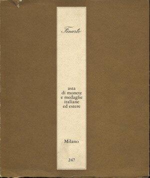 obverse: FINARTE. – Milano, 17 – Dicembre, 1976. Monete e medaglie italiane ed estere.  pp. 75,  nn. 587,  tavv. 10. Ril. ed. buono stato.
