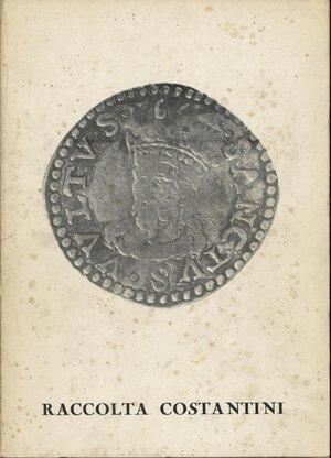 obverse: GALLERIA VANGELISTI. – Lucca, 18 – Marzo, 1971. Raccolta  Costantini.  Pp. 142,  nn. 2202 + 162 + 63,  tavv. 13. Ril. ed. macchiata, interno buono stato, raro.
