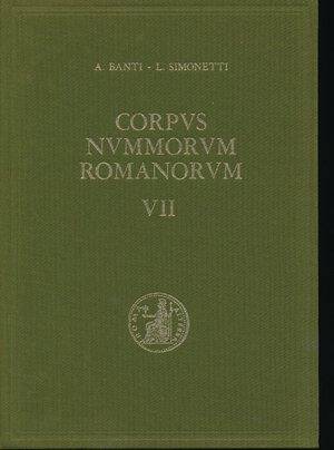 obverse: BANTI A. - SIMONETTI L. - Corpus Nummorum Romanorum Vol. VII Augusto monetazione coloniale . Firenze, 1975, pp. 340, foto in b/n. Coperrtina rigida in tela. Ottimo stato.