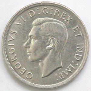 obverse: Canada. Dollaro 1939. Ag 800.