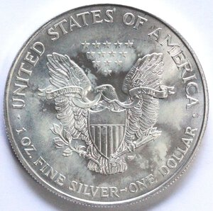 obverse: USA. Dollaro 1994. Oncia. Ag.
