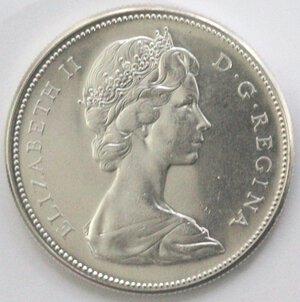 obverse: Canada. Dollaro 1967. Ag 925.
