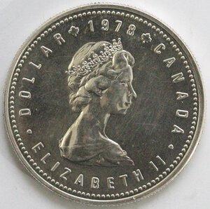 obverse: Canada. Dollaro 1978 Giochi del Commonwealth. Ag 500.