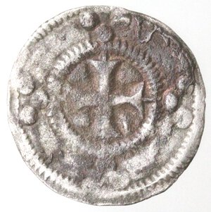 reverse: Francia. Auxerre. Monetazione Anonima. 1204. Denaro. Mi.