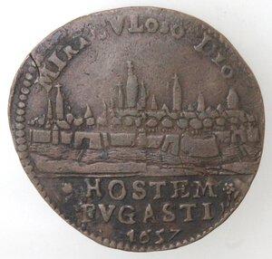 reverse: Olanda. Filippo IV. Token 1657. Ae.