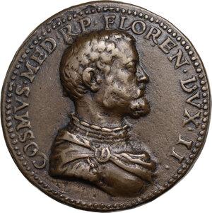obverse: Cosimo I de  Medici (1537-1574). Medaglia s.d. (1559/59)