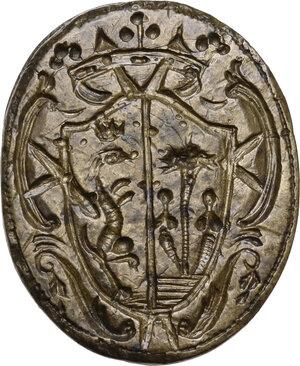 obverse: Sigillo XVI sec. di famiglia nobile non identificata